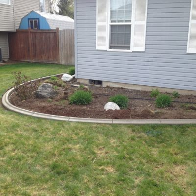 House Flower Bed